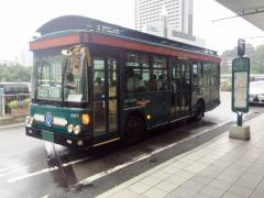 「新神戸駅前(東側)」バス停留所