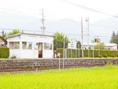 安曇沓掛駅
