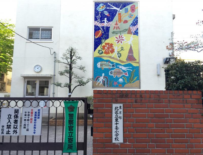 東十条小学校(東京都北区)の投...