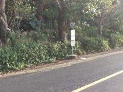 「磯辺」バス停留所