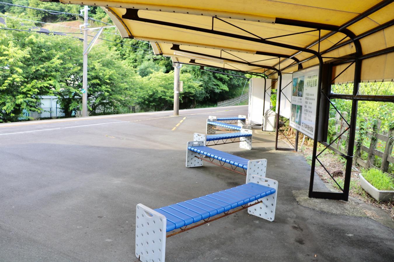 今井浜海岸駅(賀茂郡河津町)の...