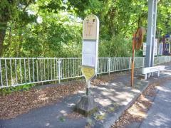 「沼本」バス停留所