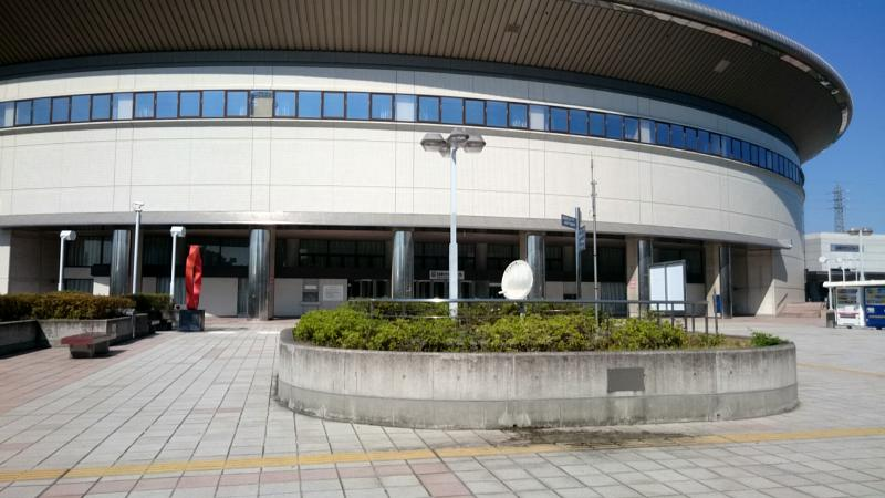 ホール2階広場