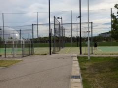 愛地球博記念公園庭球場