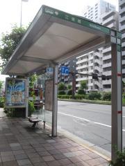 「江東橋」バス停留所