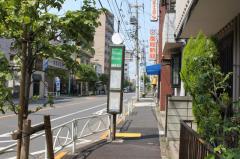 「中居堀」バス停留所
