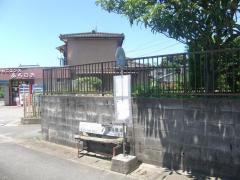 「中土」バス停留所