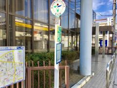 「堂本」バス停留所