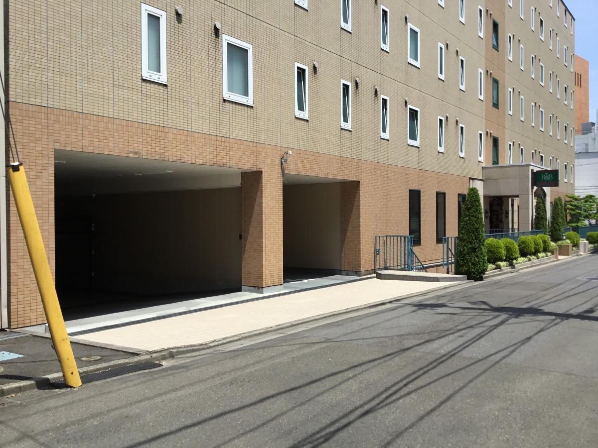 R&Bホテル 仙台広瀬通駅前です。