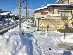 「瀬波一丁目」バス停留所