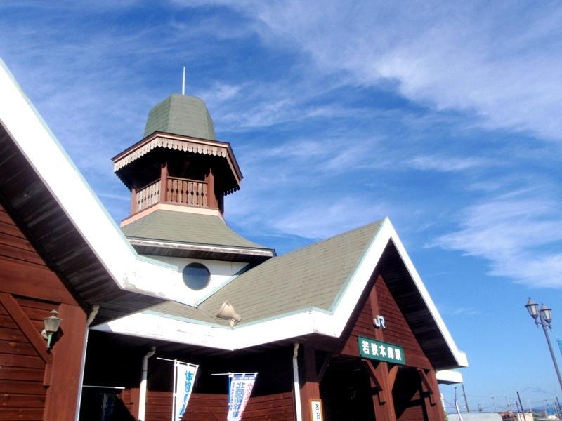 若狭本郷駅の駅舎です。