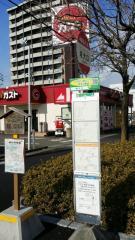 「岐大口」バス停留所