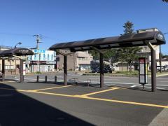 「袖ケ浦駅」バス停留所