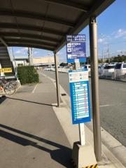 「海上アクセスターミナル」バス停留所