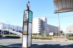 「堀江団地」バス停留所