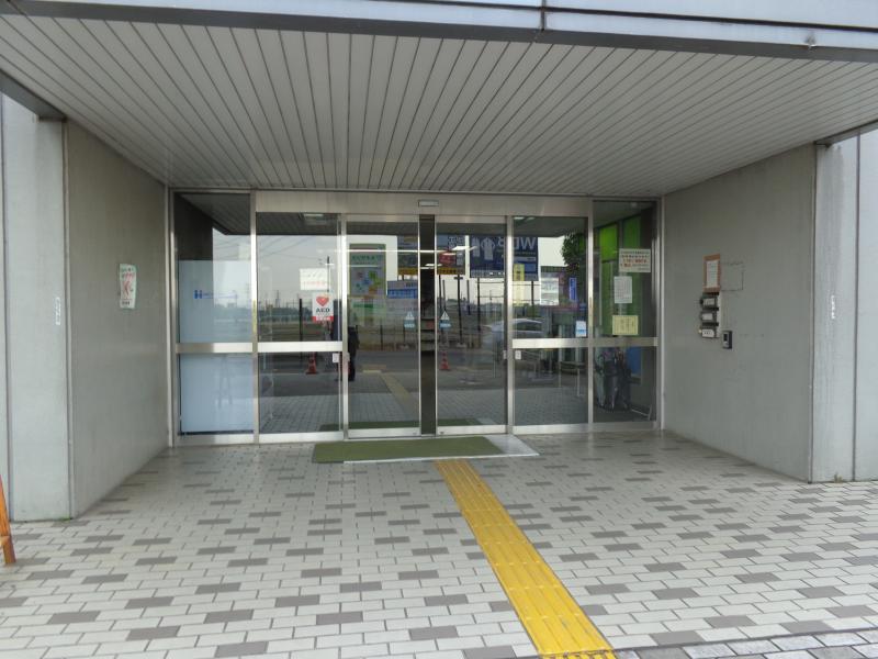 外観入口です