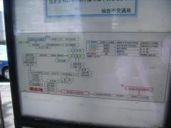 「八木山松波町」バス停留所