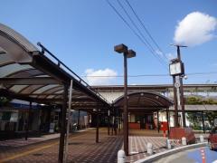 「穂積」バス停留所