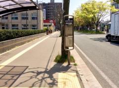 「市町村会館前」バス停留所