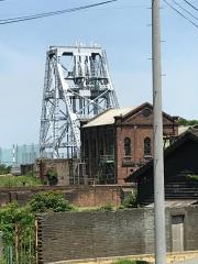 三池炭鉱万田坑