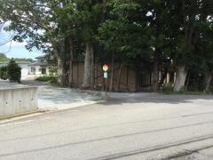 「芦の口公民館」バス停留所