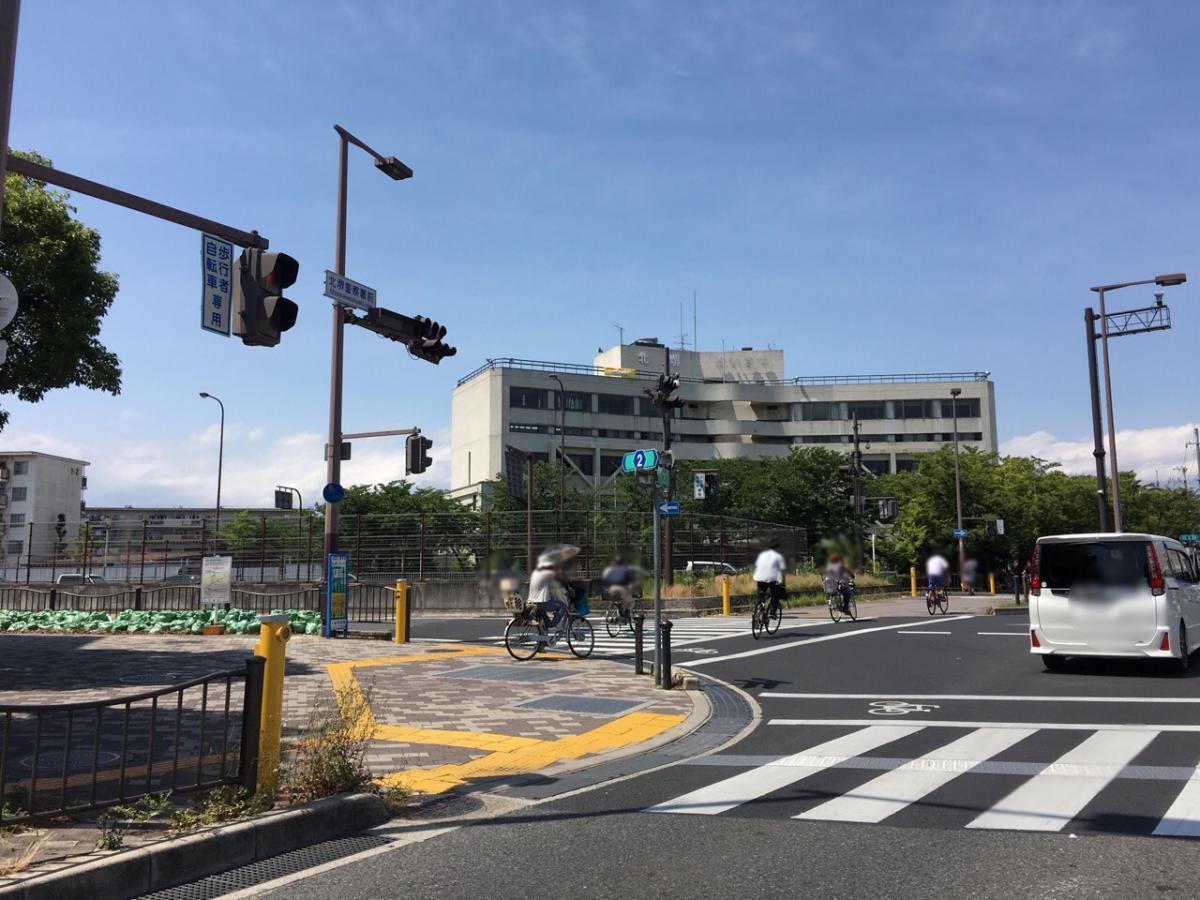 大阪府北堺警察署(堺市北区)の...