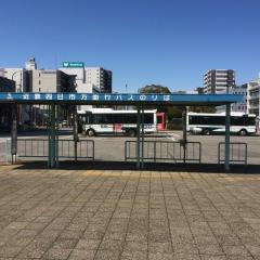 「JR四日市駅」バス停留所