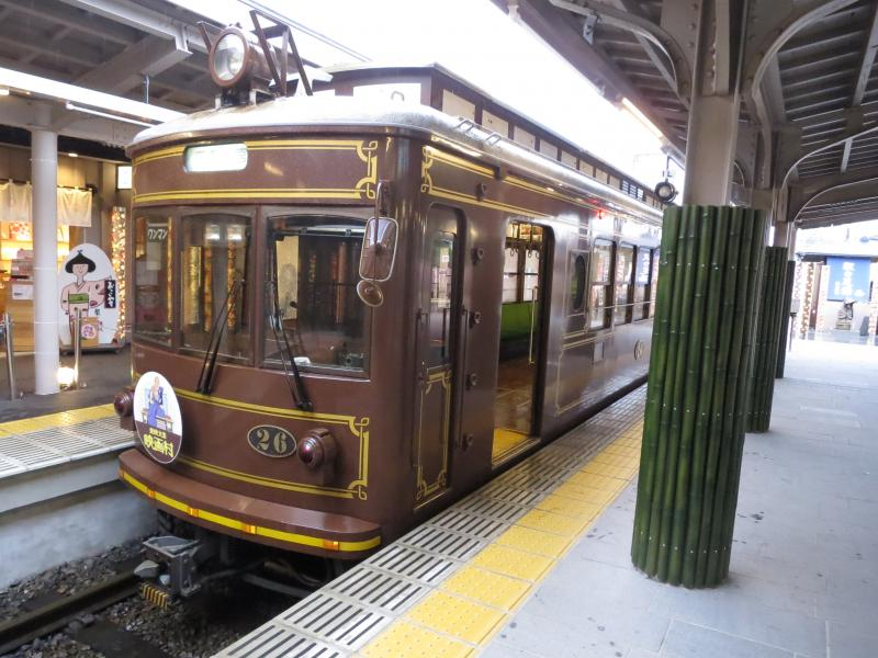 京都市にあります嵐山駅