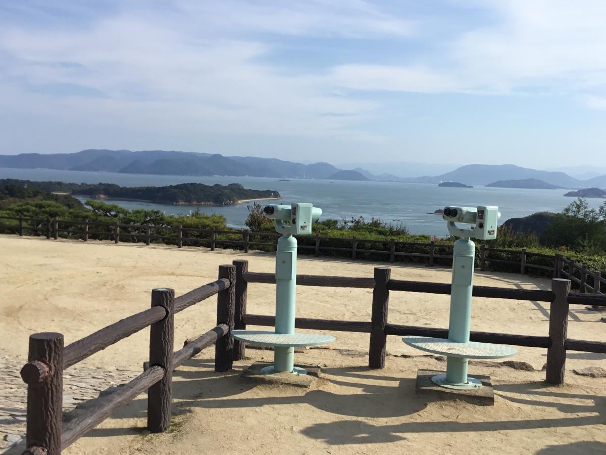 岡山県倉敷市の『鷲羽山』です。