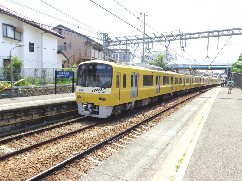 下り黄色い列車