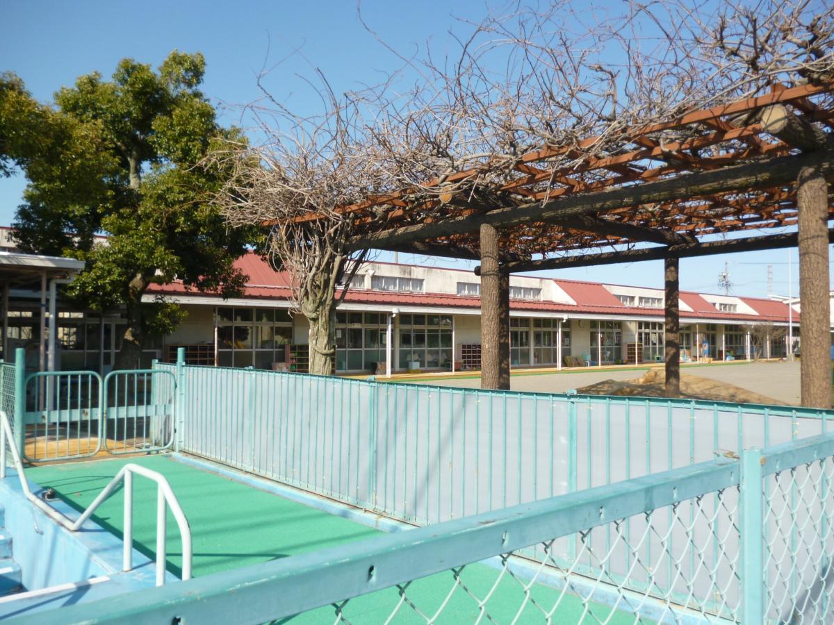 大垣市にある三城保育園です。