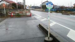 「滝の宮神社前」バス停留所