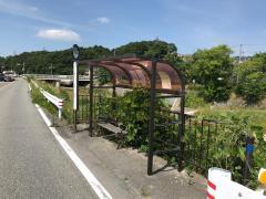 「下山口」バス停留所