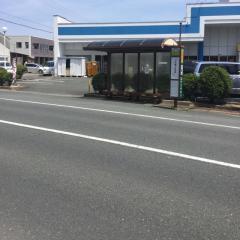 「JA長上支店」バス停留所