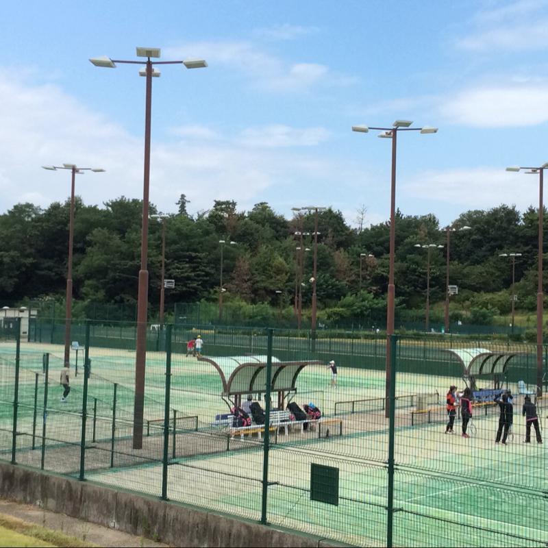 テニスコートが16面も! NTN総合...