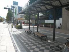 「権堂入口」バス停留所