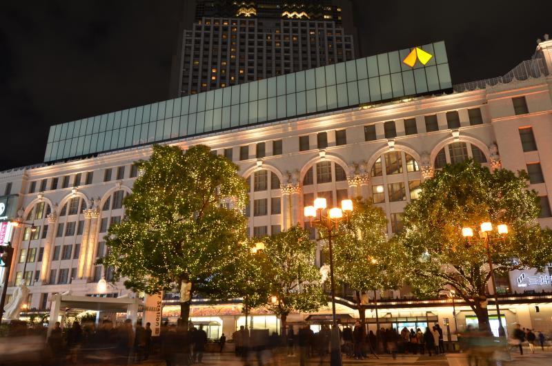 難波駅夜景