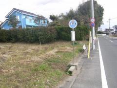 「明神尾」バス停留所