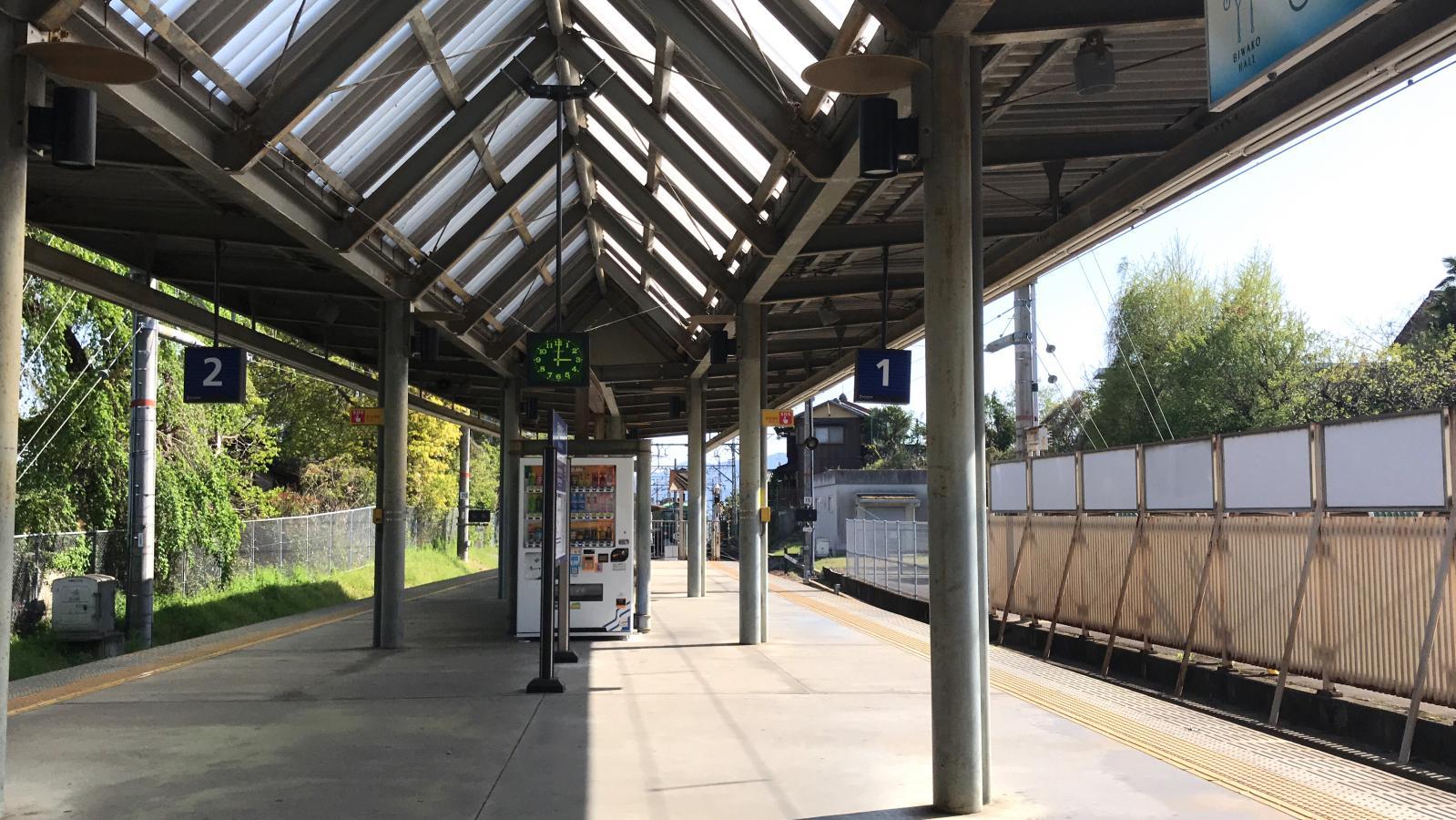 京阪石坂線坂本駅