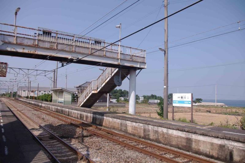 伊予寒川駅