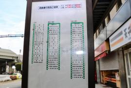 「江戸川橋」バス停留所