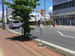 「本局前」バス停留所