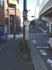 「大師橋下」バス停留所