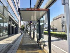 「新田町」バス停留所