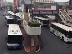 「倉敷駅前」バス停留所