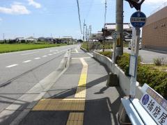 「市民病院」バス停留所