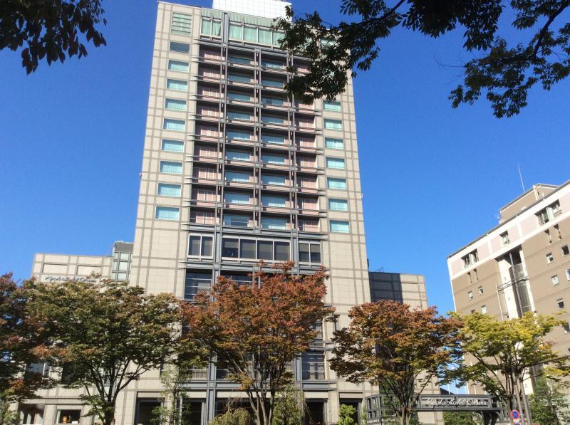 京都ホテルオークラです。