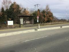 「西公園前」バス停留所
