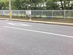 「芝本」バス停留所
