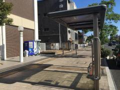 「出雲市役所前」バス停留所